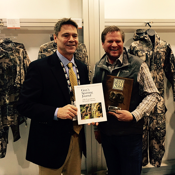 Sitka Polygiene CORE Hoody listed as best of 2016 by Gray's Sporting Journal