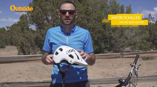 "Poc Tectal Helmet with Polygiene featured in a ""First Impressions"" video by Outside Online"